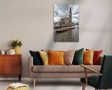 De Westertoren in Amsterdam. van Don Fonzarelli