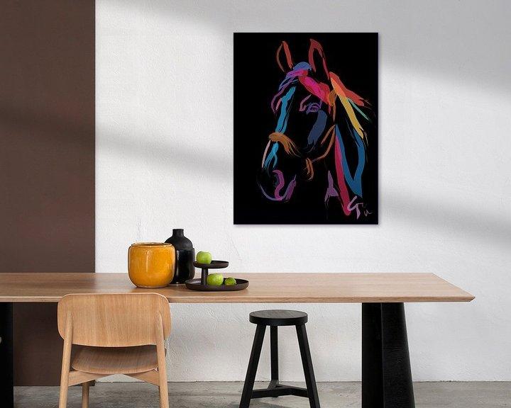 Impression: Cheval Color Me Beautiful sur Go van Kampen