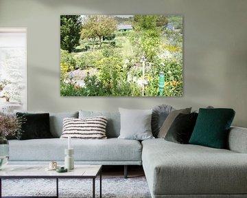 Monets Garden van Lyn Van Veldhoven