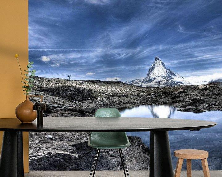 Sfeerimpressie behang: Matterhorn van Paul Piebinga