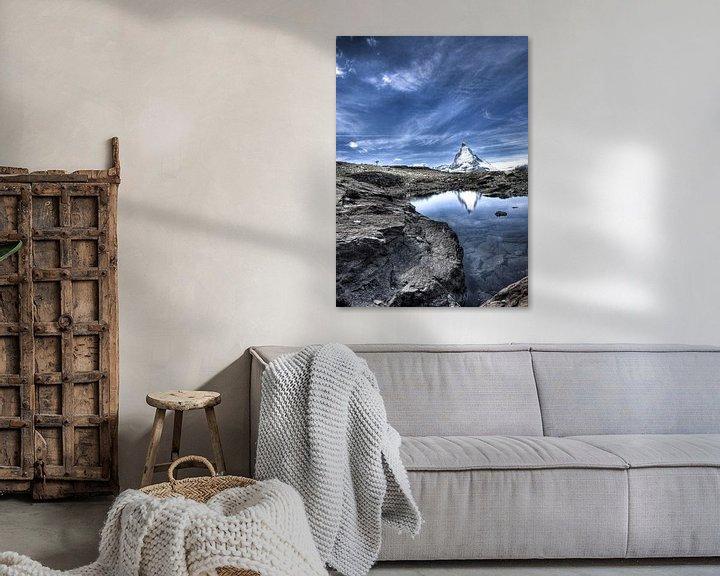 Sfeerimpressie: Matterhorn van Paul Piebinga