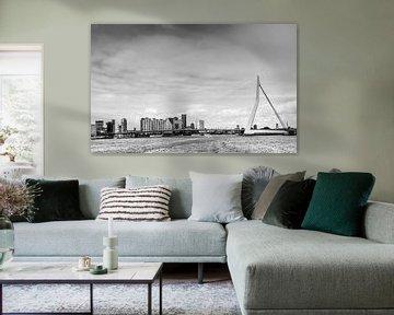 Rotterdam schwarz und weiß von Patrick Herzberg