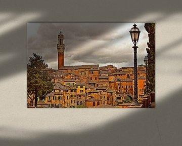 Siena: Torre del Mangia von Kees Maas
