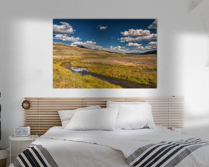 Sfeerimpressie: Yellowstone landschap van Ilya Korzelius