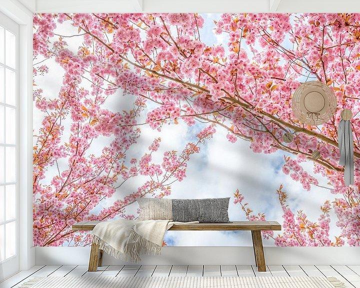 Sfeerimpressie behang: De bloesembomen van Arja Schrijver Fotografie