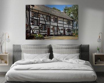 Vakwerkhuis in Mechelen van Leo Langen