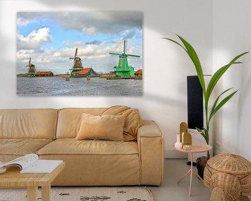 De Zaanse Schans, Nederland van Richard van der Woude