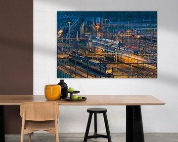 Spoor emplacement Rotterdam Centraal