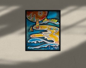 zee (beach life) van Ariadna de Raadt