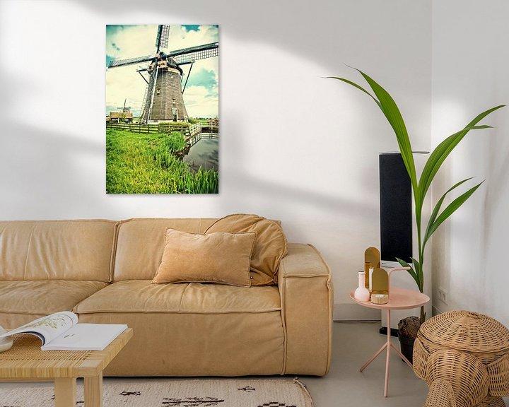 Beispiel: Holländische Landschaft von Ariadna de Raadt-Goldberg