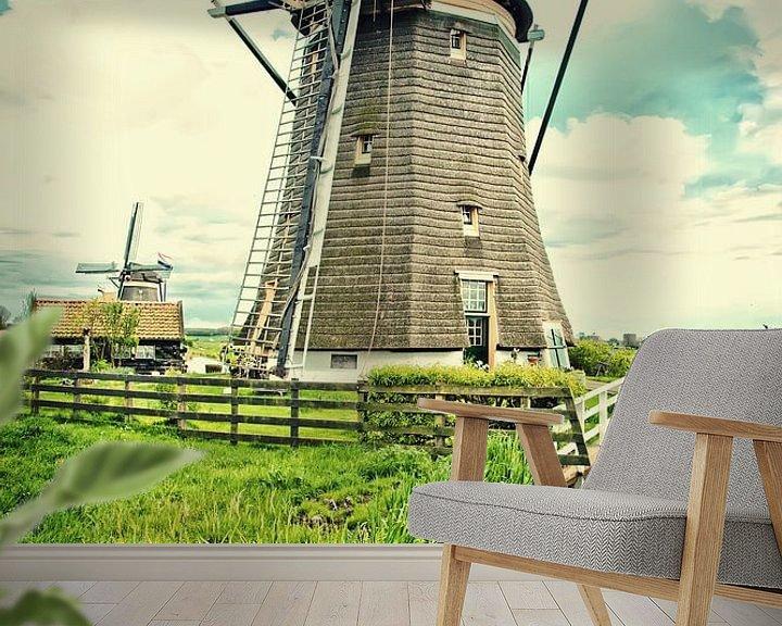 Beispiel fototapete: Holländische Landschaft von Ariadna de Raadt-Goldberg