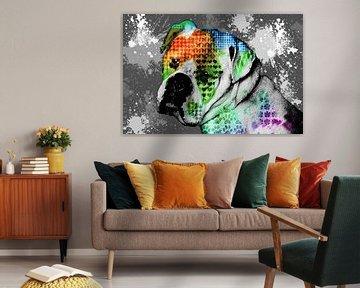Abstract Bulldog van Nannie van der Wal