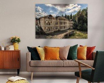 Grand Hotel - Lost Place - verlassener Ort von Carina Buchspies