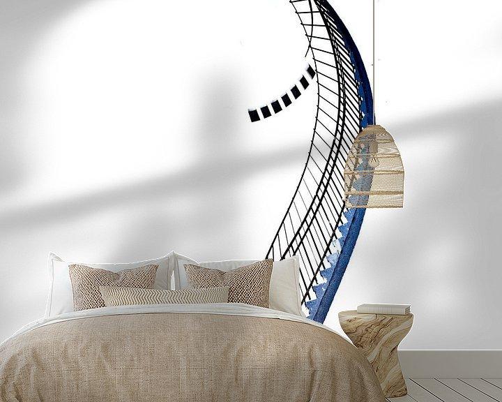 Sfeerimpressie behang: Snake van Maerten Prins