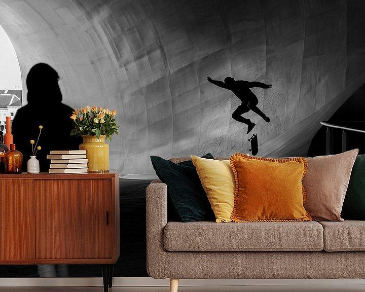 Sfeerimpressie behang: Jump! van Maerten Prins