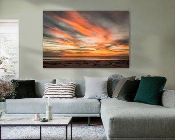 Prachtige zonsondergang in Broome van Eefke Smets