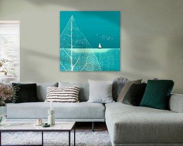 Ocean Wonderland II-B van Pia Schneider