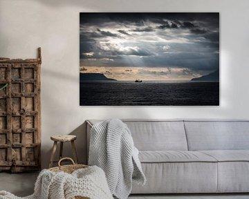 Licht on Schiff in Schottland von Eefke Smets