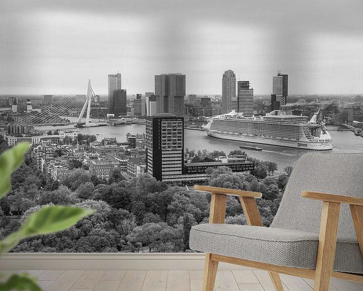 Beispiel fototapete: Harmony of the Seas in Rotterdam von MS Fotografie | Marc van der Stelt