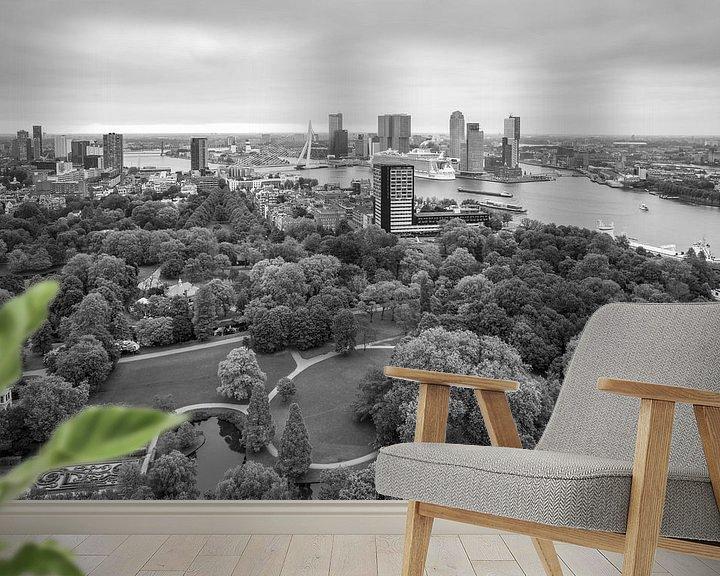 Sfeerimpressie behang: Harmony of the Seas in Rotterdam van MS Fotografie   Marc van der Stelt