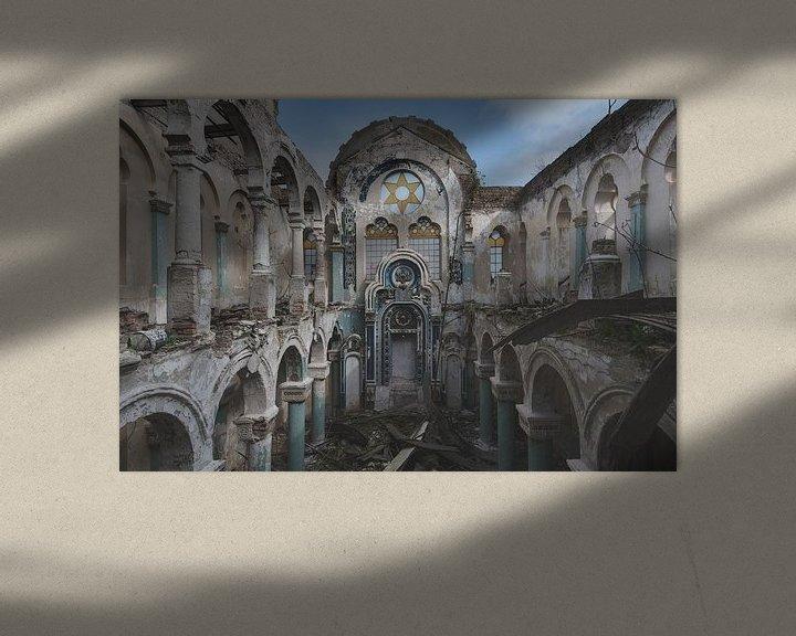 Beispiel: Die Synagoge von Perry Wiertz