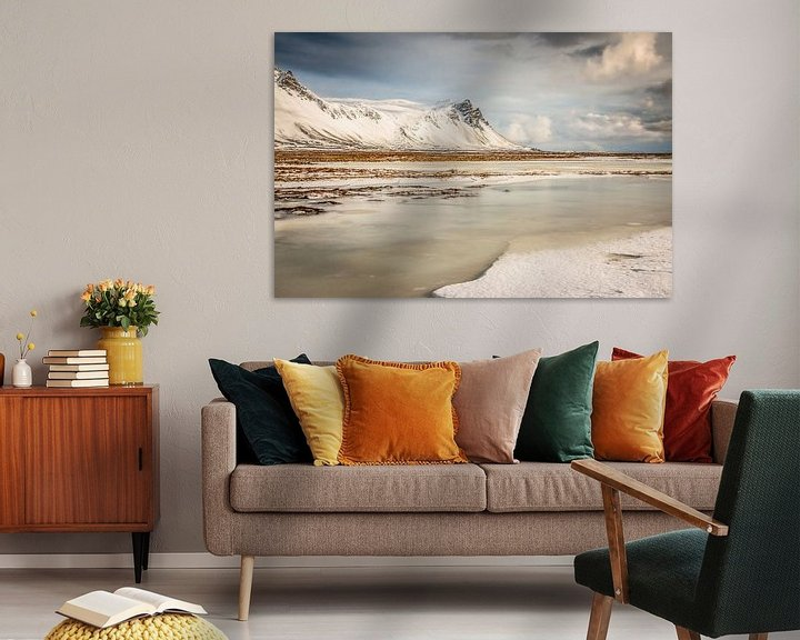 Sfeerimpressie: IJsland landschap van Eefke Smets