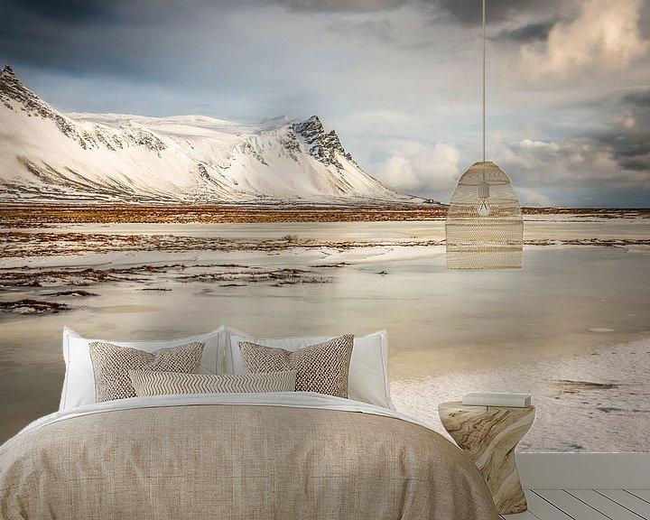 Sfeerimpressie behang: IJsland landschap van Eefke Smets