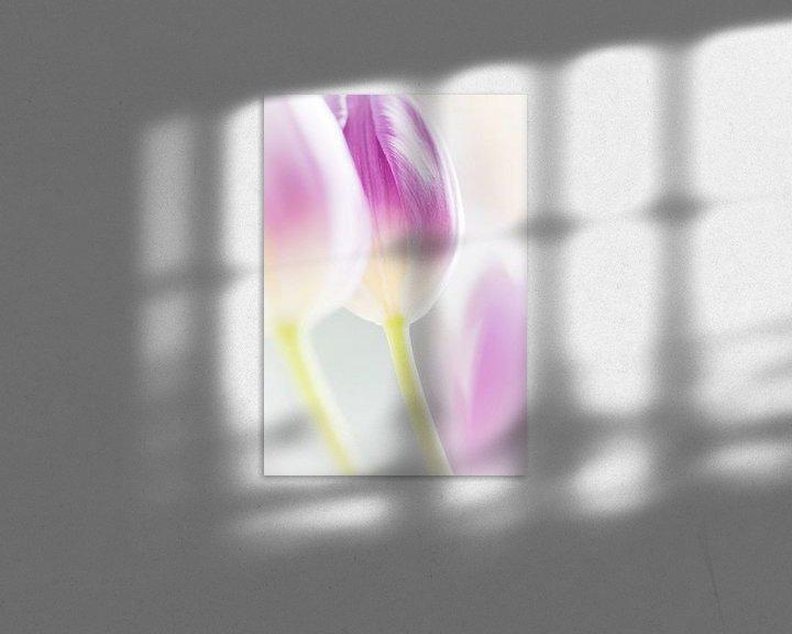 Sfeerimpressie: Tulp in high key van Greetje van Son