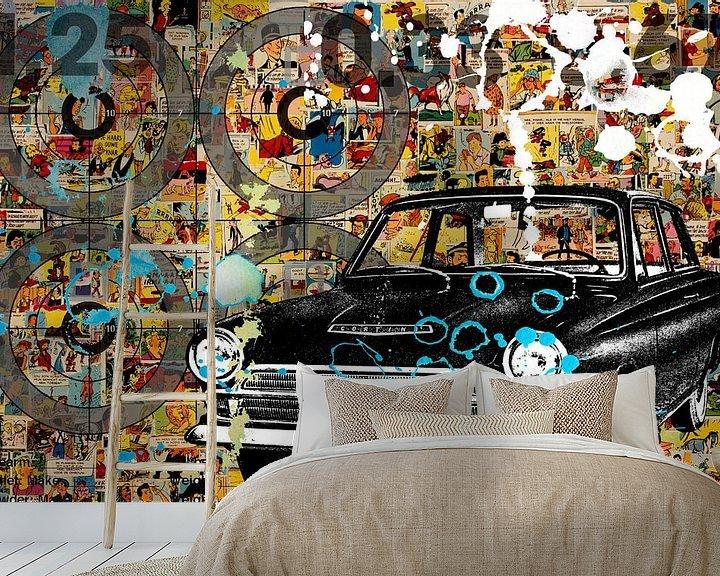 Sfeerimpressie behang: COMICS van db Waterman