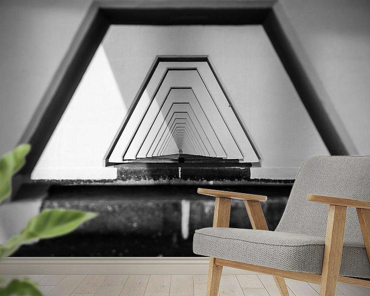 Sfeerimpressie behang: Under the Bridge van Koen Mol
