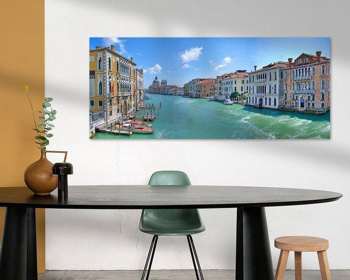 Sfeerimpressie: Grand Canal Venetie van Rens Marskamp