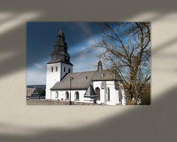 Kerkje in Sauerland. von Rijk van de Kaa