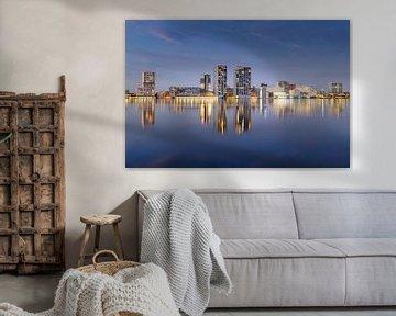 Skyline Almere van Arjan Keers