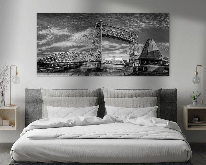 Sfeerimpressie: Panorama de Hef in zwartwit van Ilya Korzelius