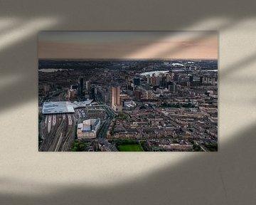 Blik op Rotterdam von Roy Poots