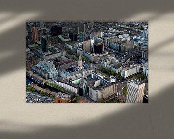 De Coolsingel van Rotterdam von Roy Poots