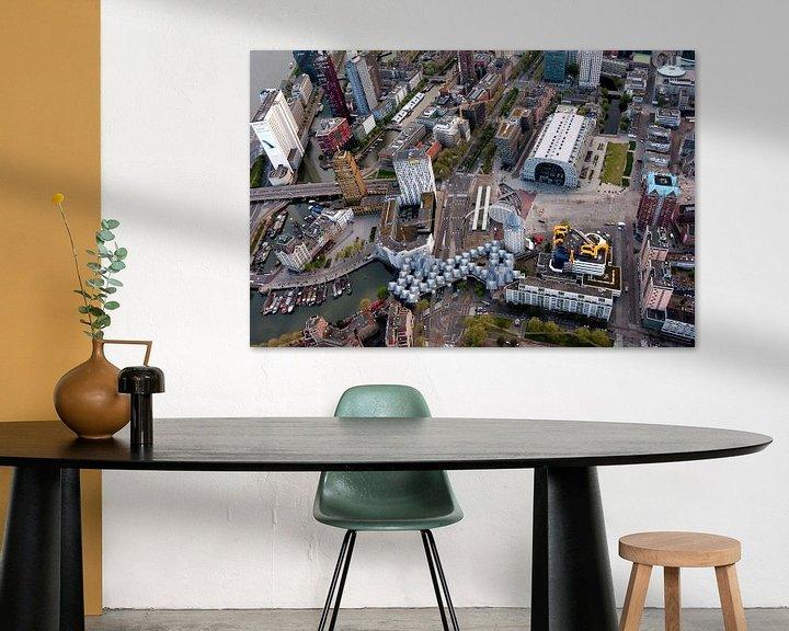 Sfeerimpressie: De iconen van Rotterdam van Roy Poots