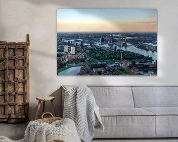 Rotterdam Skyline von Roy Poots