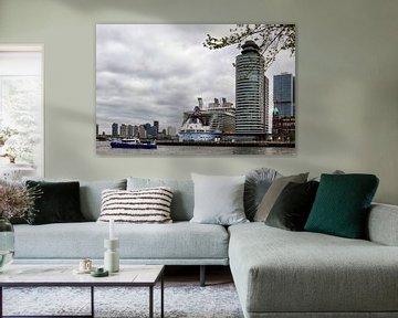 Harmony of the Seas in Rotterdam van Richard Driessen