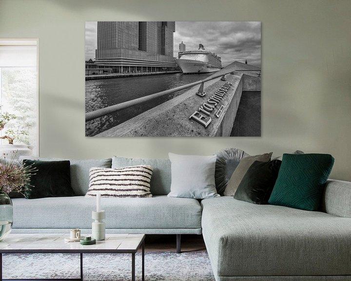 Sfeerimpressie: Harmony of the Seas in Rotterdam van Eus Driessen