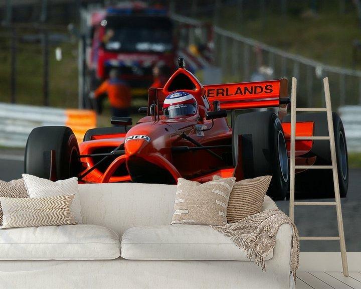 Beispiel fototapete: Raceauto A1GP op Zandvoort von Michel Postma