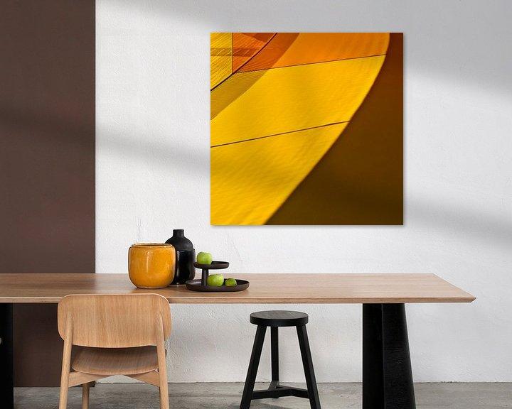 Impression: Geel en oranje sur Maerten Prins