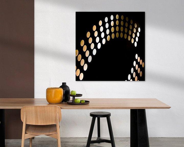 Sfeerimpressie: Lichtende bollen van Maerten Prins