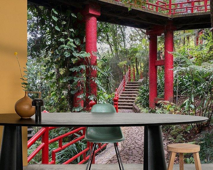 Impression: Japanese garden on maadeira island sur ChrisWillemsen