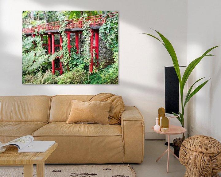 Impression: jpanese garden on madeira island sur ChrisWillemsen