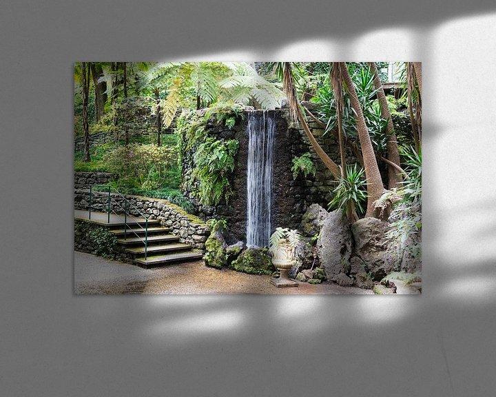 Impression: waterfall in tripcal garden Monte Madeira sur ChrisWillemsen
