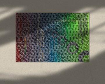 Grafisch patroon met vectoren van Rietje Bulthuis