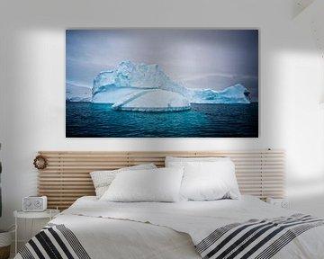 de magie van het ijs op Antarctica van Eric de Haan