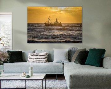 Schip ahoy sur Richard Steenvoorden