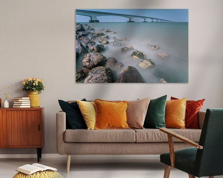 Sfeerimpressie: Zeelandbrug in de provincie Zeeland van Ardi Mulder